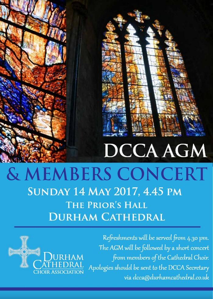 DCCA AGM & Members' Concert