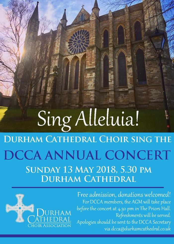 Sing Alleluia! DCCA Annual Concert & AGM
