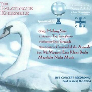 Palatinate Ensemble: Grieg, Mo-zart, Hofsetter, Saint-Saens & Bor